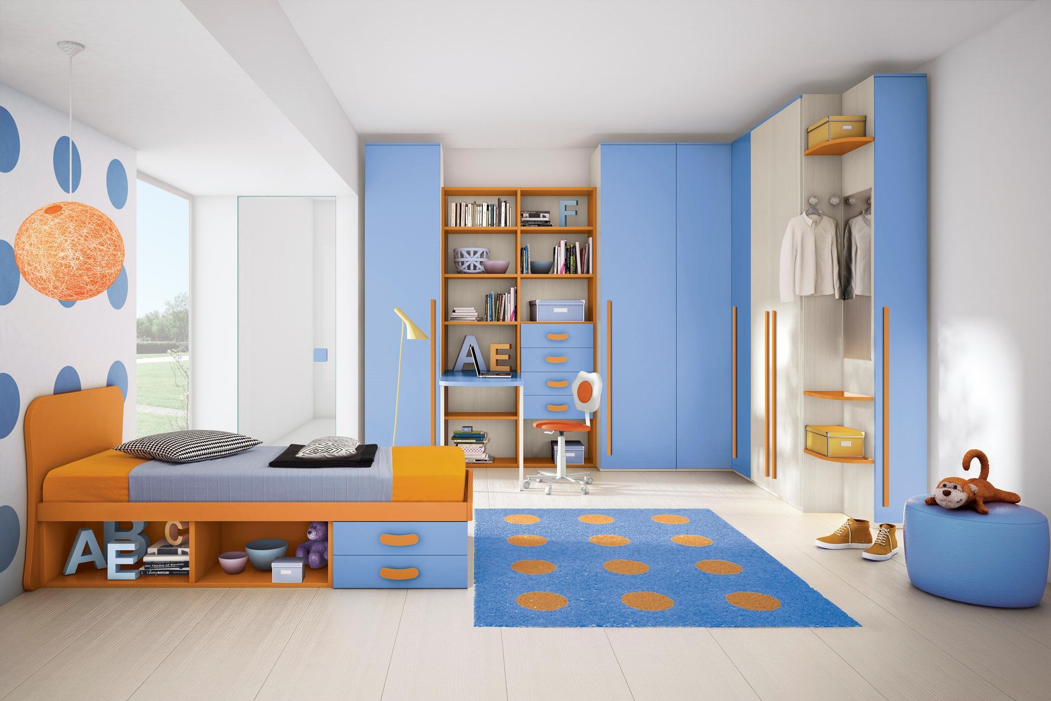 Camerette per bambini con 4 letti : camerette bambini con letti a ...