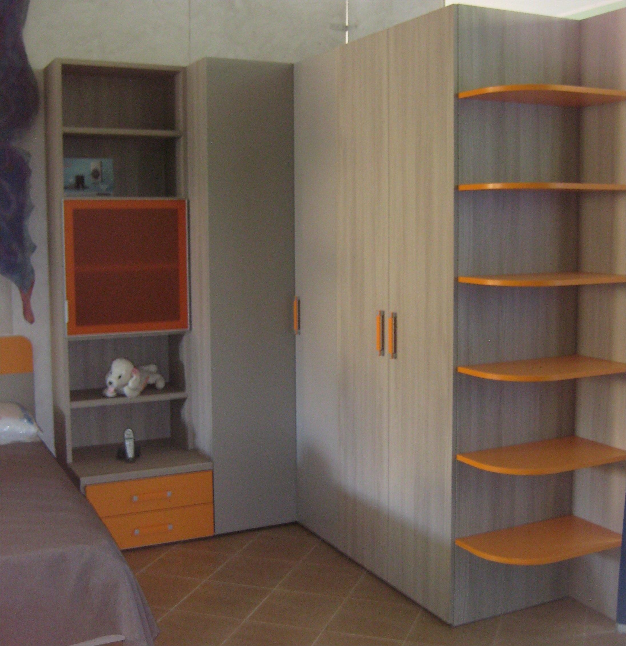 Armadio angolare prezzi idee di design nella vostra casa for Librerie angolari