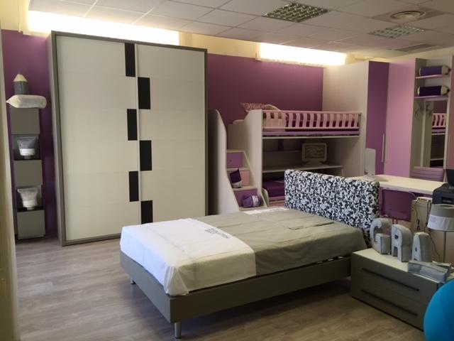 Cameretta moretti compact per ragazzi con letto ad una - Camerette letto una piazza e mezza ...