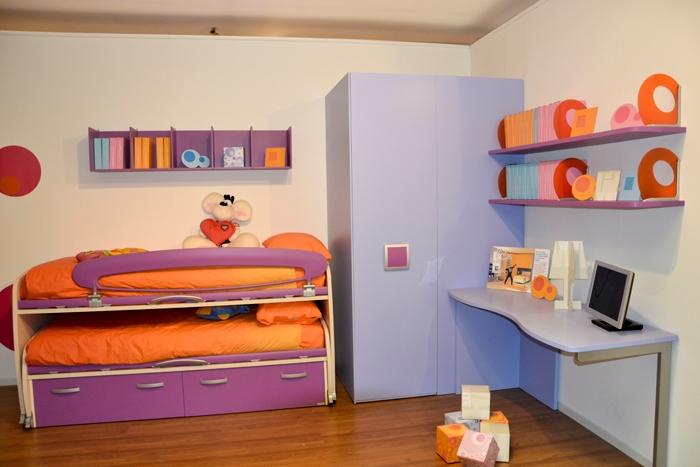 Cameretta moretti compact letti space camerette a prezzi - Camerette moretti compact prezzi ...