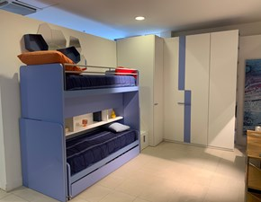 Cameretta Multispazio Zalf in laminato opaco a prezzo Outlet