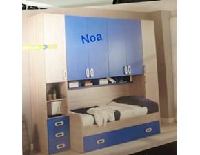 Cameretta Noa Artigianale con letto a ponte in Offerta Outlet