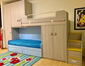 Cameretta Oliver Zg mobili con letto a castello in Offerta Outlet