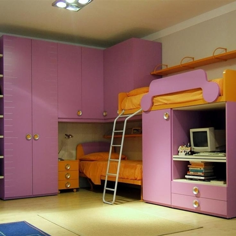 Casa moderna, roma italy: cameretta per due