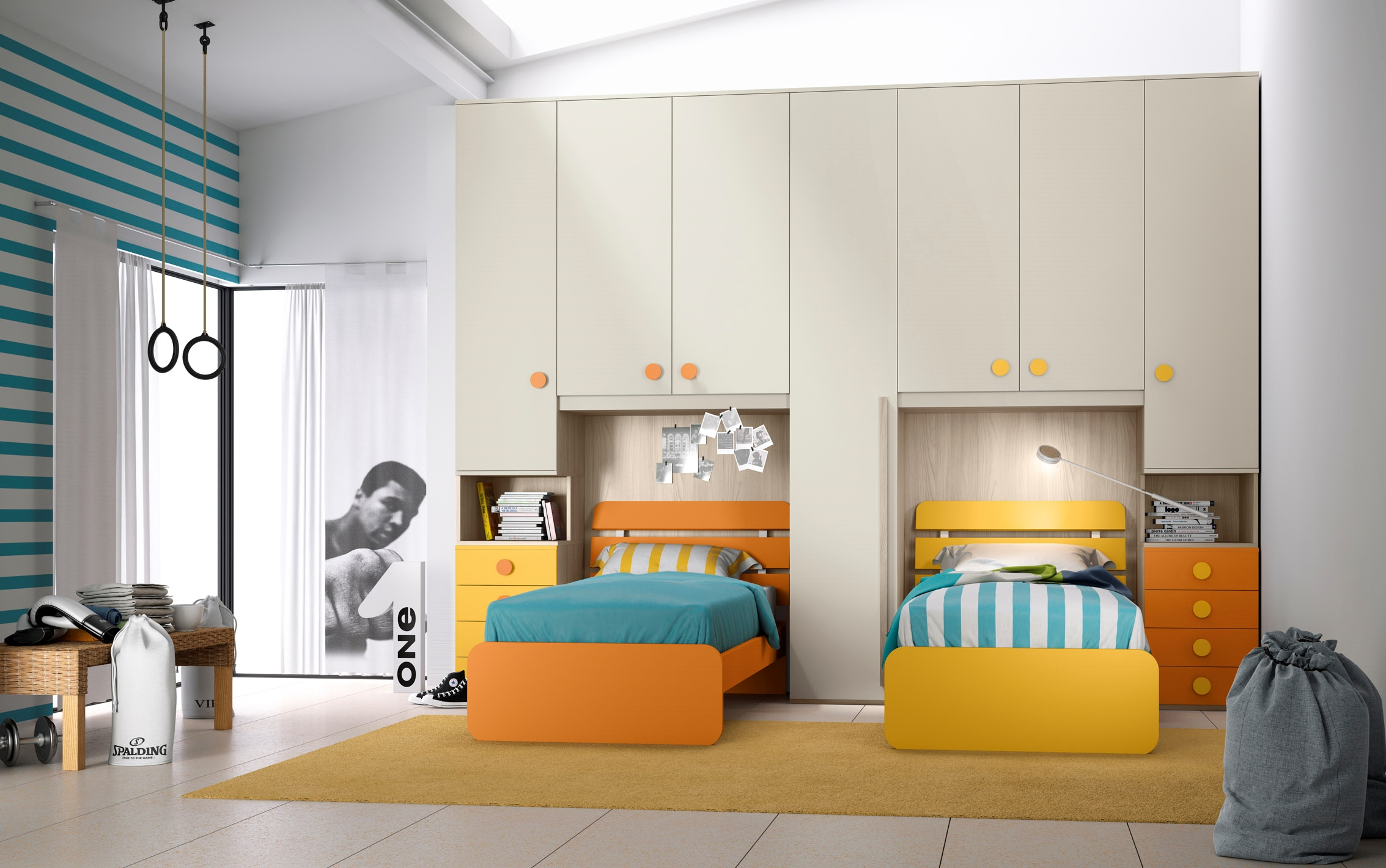 Cameretta Con Armadio A Ponte Ikea.Camerette Bambini 2 Letti Ikea Perfect With Camerette Bambini 2