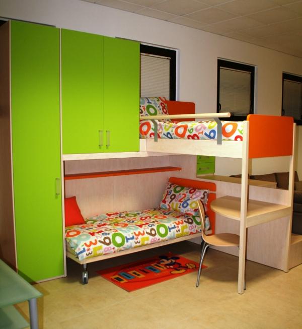 Cameretta rimini mobili 2 letti scontato del 64 for Mobili x bambini