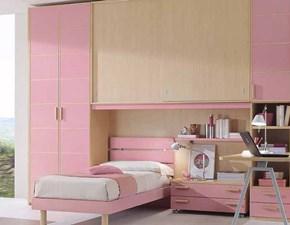 Cameretta componibile programma Energy colore Rosa