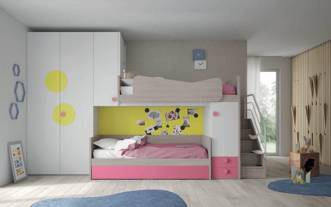 Cameretta salvaspazio 28 di mistral scontata camerette a for Quanto costerebbe una casa con 5 camere da letto