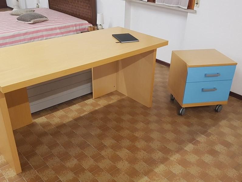 Cameretta scrivania granzotto a prezzi outlet for Zanotti arredamenti