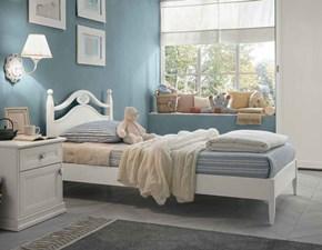 Cameretta Selene Arcadia con letto a terra in Offerta Outlet