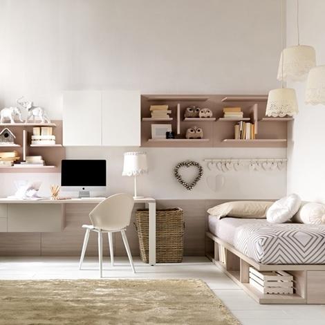 Camerette per bambina romantica camera da letto romantica for Camera da letto singola moderna