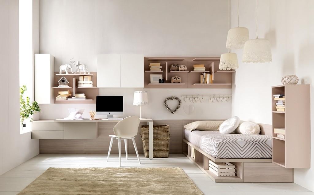 Cameretta singola romantica doimo cityline camerette a - Ikea mobili camera bambini ...