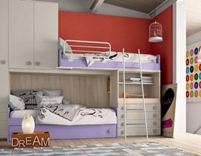 Cameretta Soppalco 35 San martino mobili con letto a soppalcoin offerta