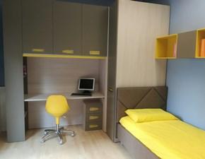 Cameretta Studio a ponte Moretti compact con letto a terrain offerta