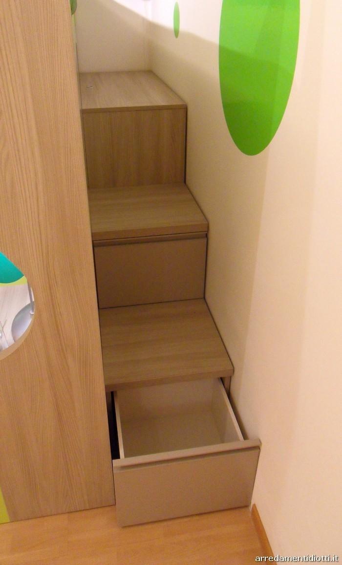 Cameretta tag con soppalco in offerta camerette a - Ikea scaletta bagno ...