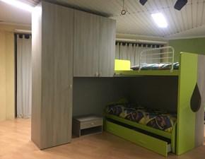 Cameretta Tag - letto a soppalco Siloma