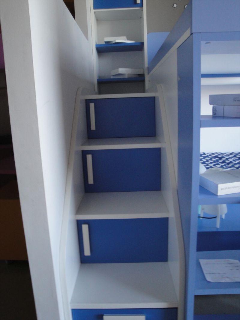 Cameretta con letto a soppalco camerette a prezzi scontati - Camerette con letto a soppalco ...