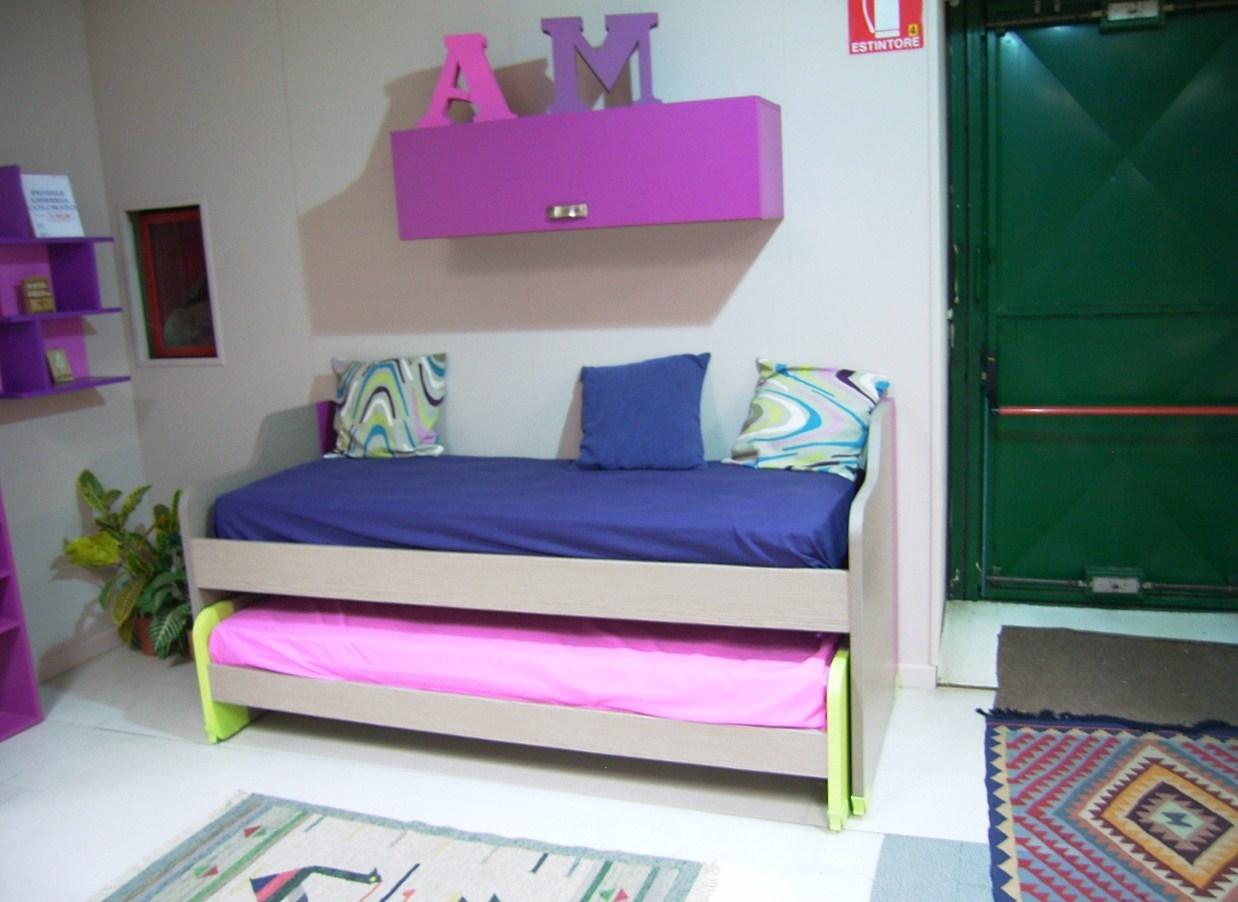 Doppio letto scontato camerette a prezzi scontati - Divano letto per cameretta ...