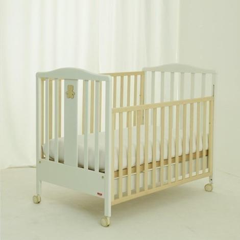 Lettino per neonati bicolor camerette a prezzi scontati - Sponde letto bambini prenatal ...