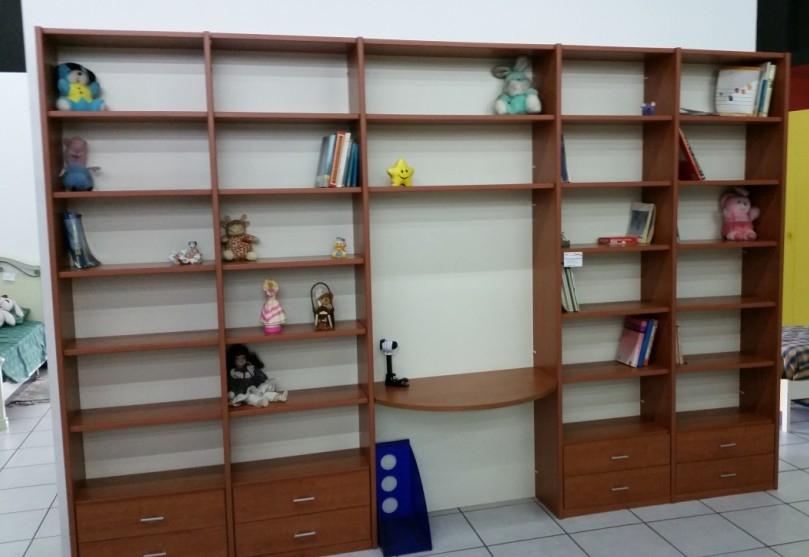 libreria ciliegio stock camerette a prezzi scontati