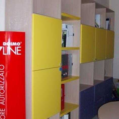 libreria con scrivania sottocosto - Camerette a prezzi scontati