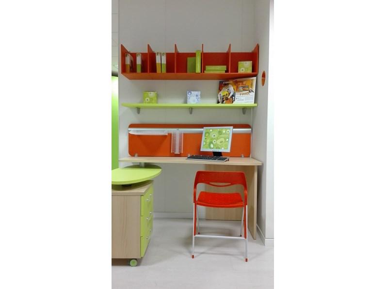 Compact parete scrivania