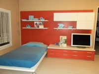 MorettiCompact parete letto attrezzata + libreria