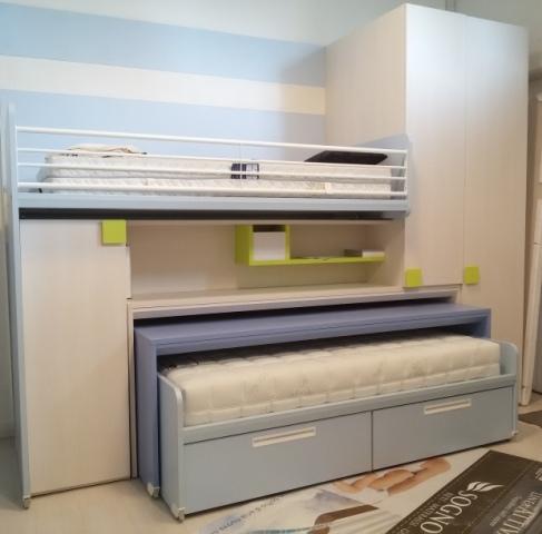 Letti salvaspazio ikea design casa creativa e mobili for Scrivania con libreria ikea