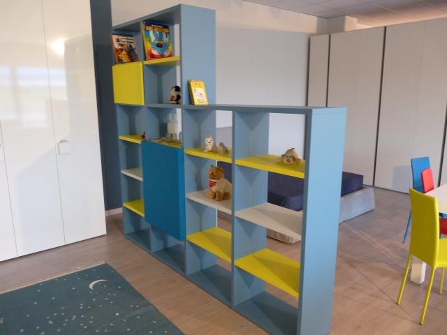 Occasione libreria bifacciale battistella modello holly - Libreria ufficio usata ...