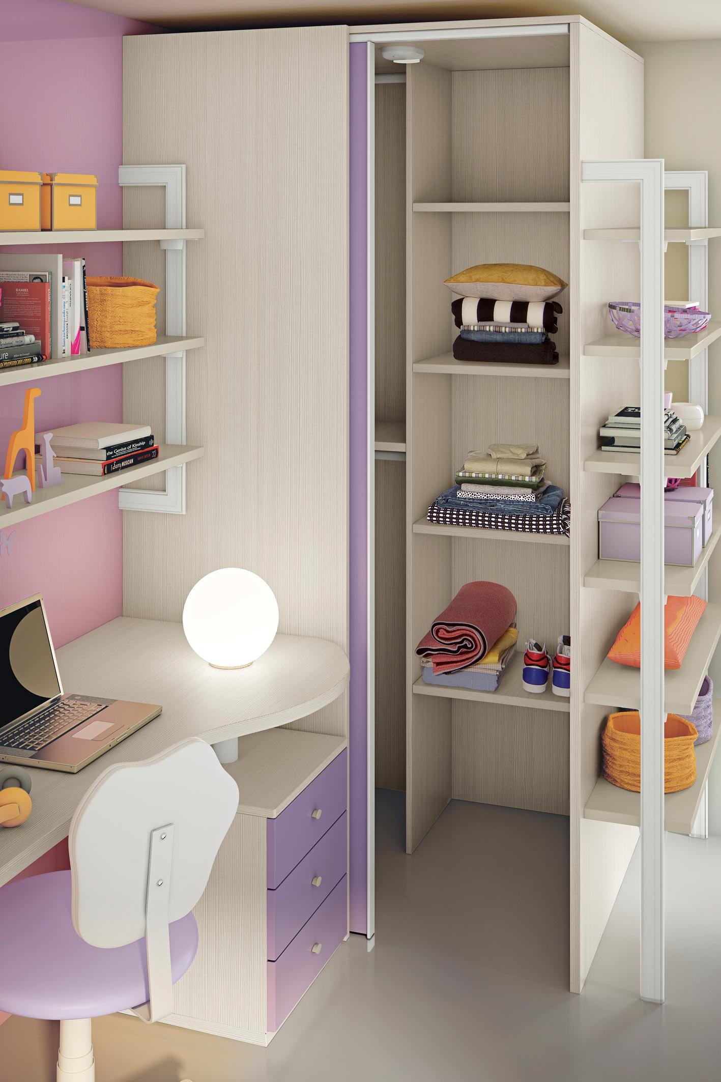 San martino cameretta bambini colorata un letto cabina - Mensole cameretta bambini ...