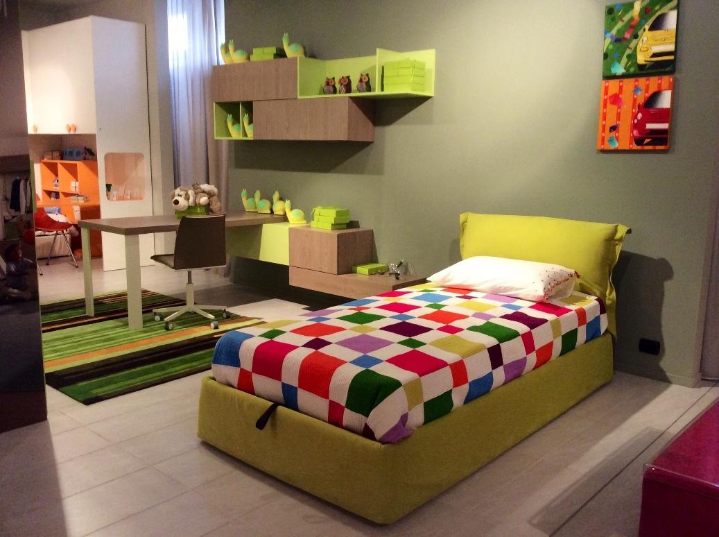 Camere Da Letto Verde Acido : Modi per usare il verde come colore d arredo dilei