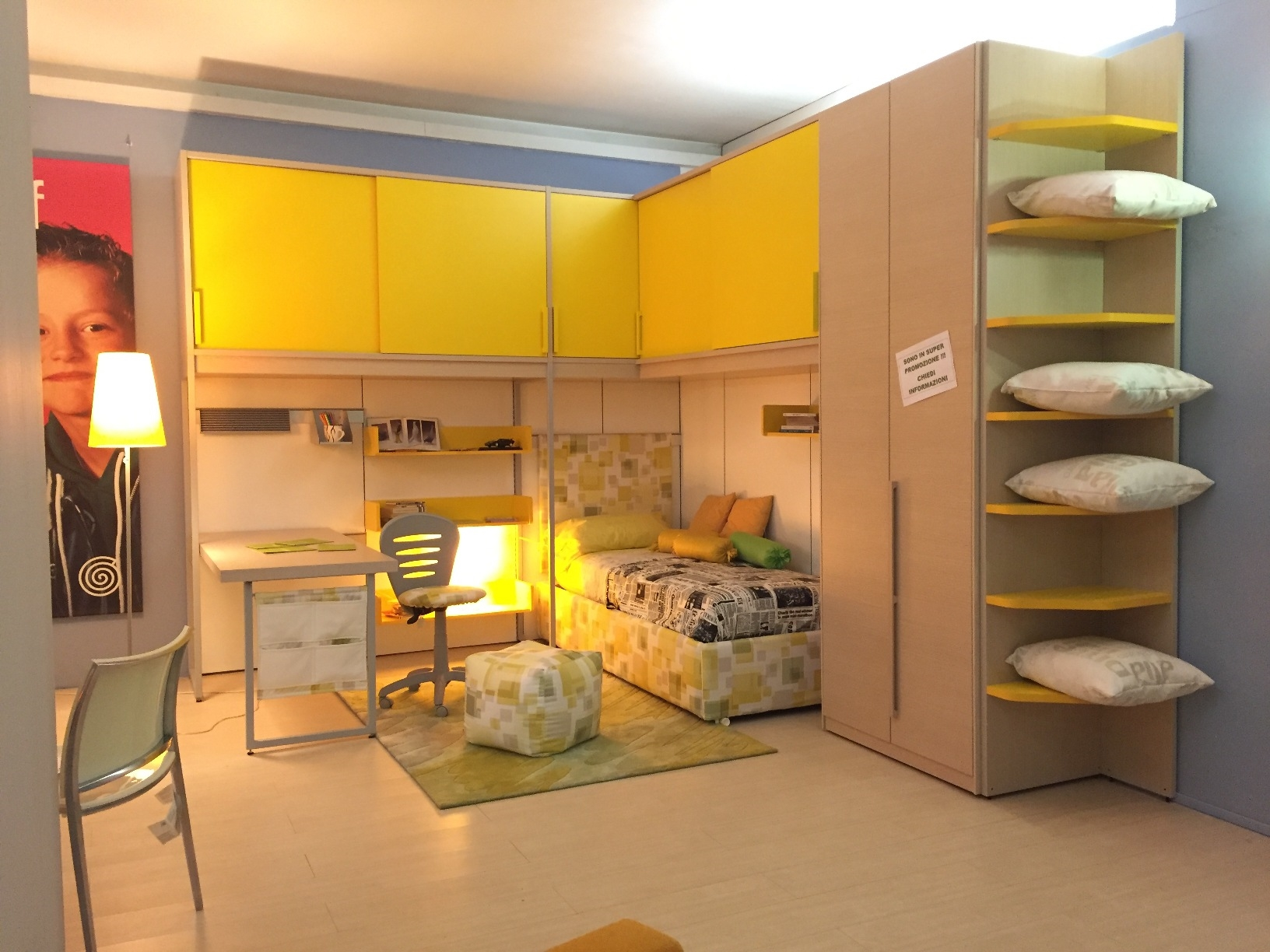 Arredamento Camerette Zalf : Zalf cameretta mod monopoli prezzo sottocosto camerette