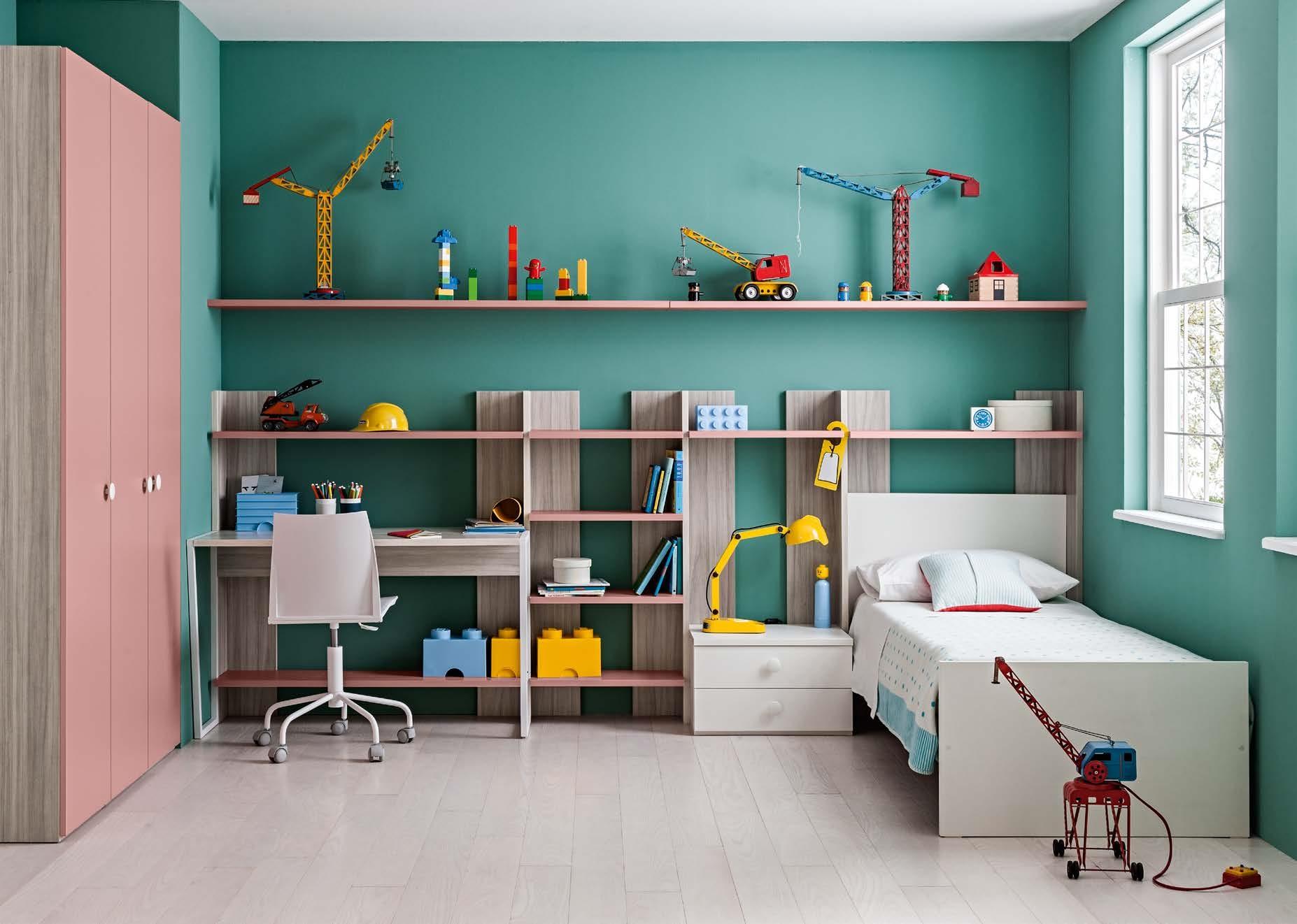 Mobile libreria per bambini mobili e camerette per - Comodini per camerette ...