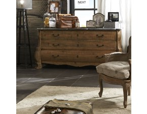 Cassettiera Dialma brown per una camera Shabby chic a marchio Dialma brown scontata
