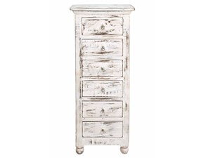 Cassettiera in Legno Cassettiera shabby chic india  Outlet etnico in Offerta Outlet