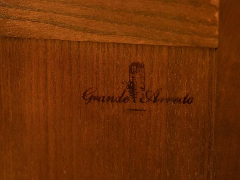 Cassettiera In Legno Gruppo In Ciliegio Massello Grande Arredo A Prezzo Scontato