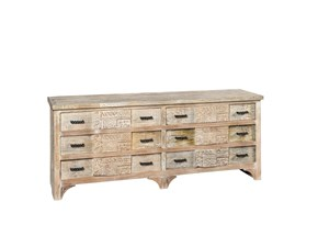 Cassettiera Shabby chic modello St. denis a marchio Outlet etnico in Offerta Outlet