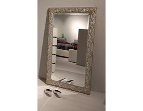 Specchio con cornice argento  a prezzo ribassato