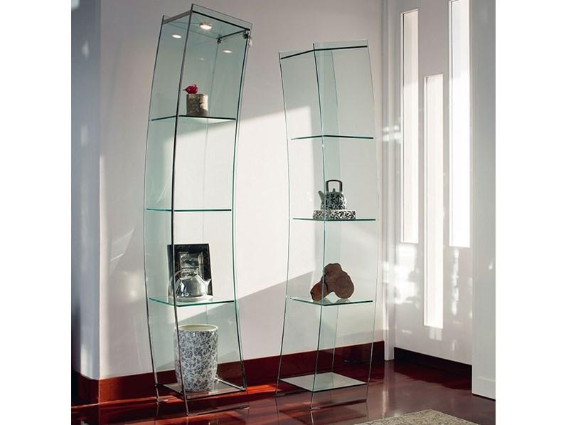 vetrina in cristallo mod wind 39 a 39 in cristallo cattelan ForVetrine In Cristallo Arredamento