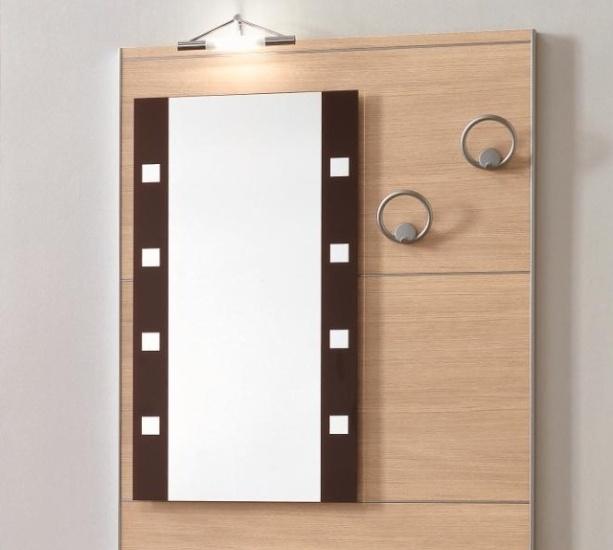 Ingresso appendiabiti con specchio scontato del 40 - Appendiabiti con specchio da parete ...