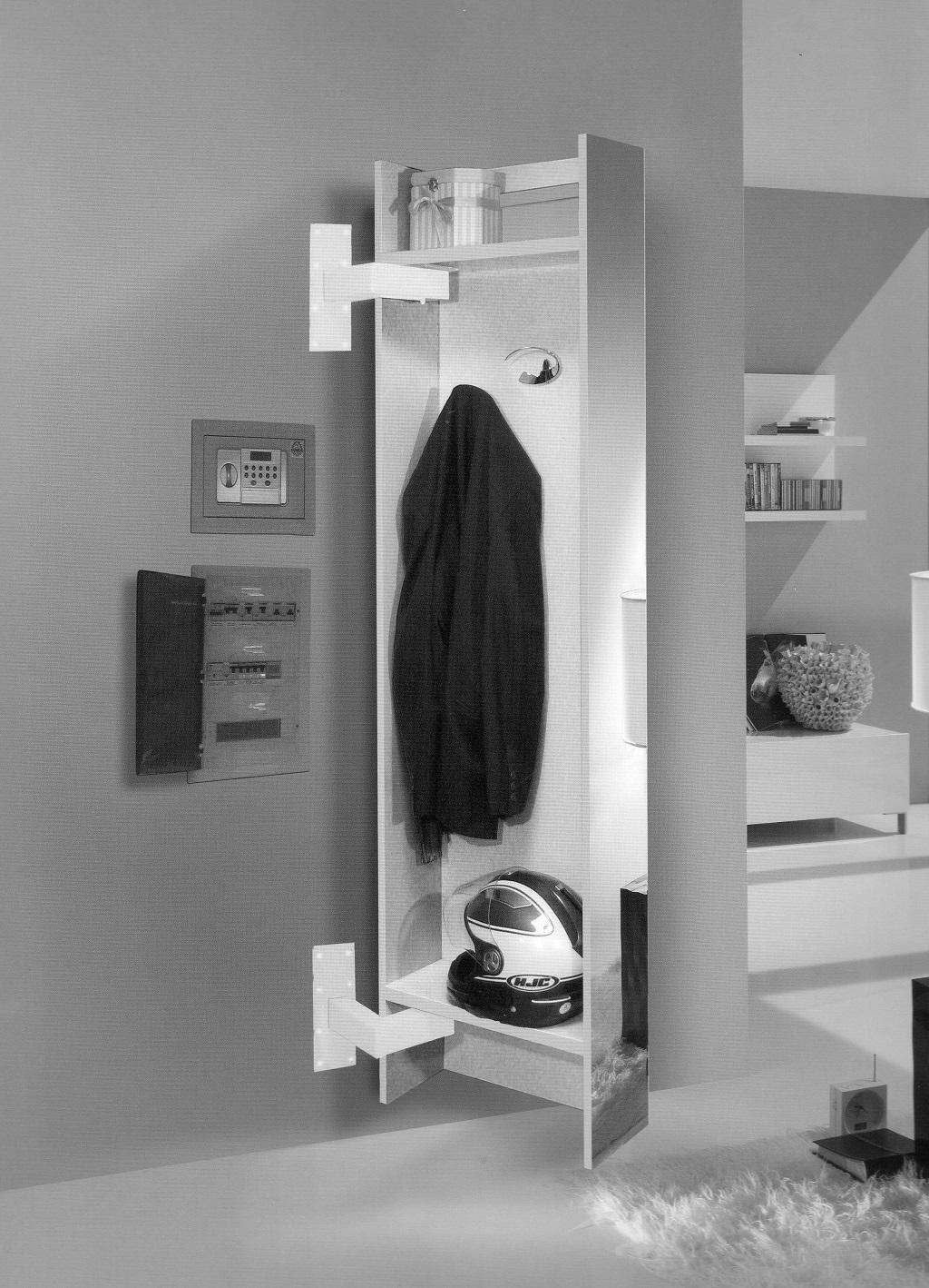 Appendiabiti da parete scontato complementi a prezzi - Attaccapanni bagno ...