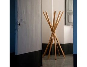 Appendiabiti in stile Design in legno Zanotta Zanotta sciangai