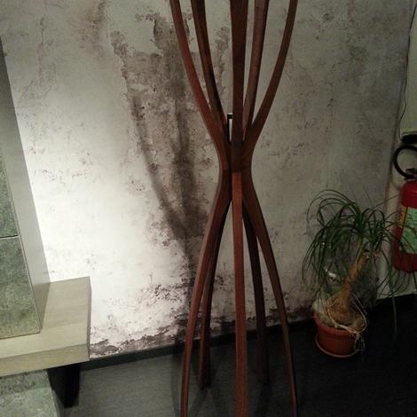 Complemento porada flamingo design legno appendiabiti - Portabiti in legno ...
