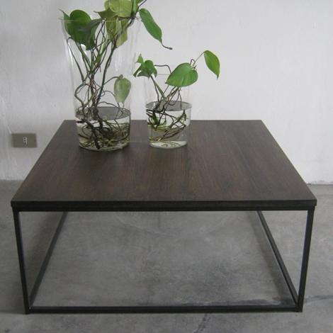 Complemento flamant tavolino salotto legno complementi a for Flamant arredamento