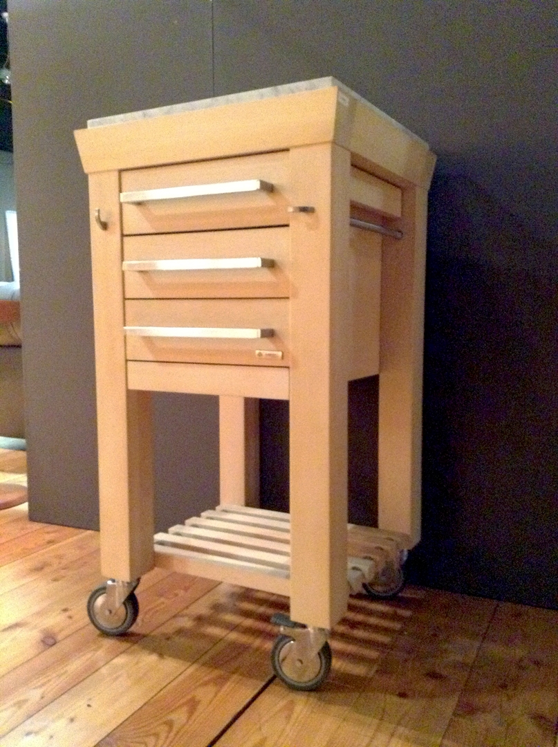 Amazing carrello porta affettatrice jd35 pineglen - Carrello cucina design ...