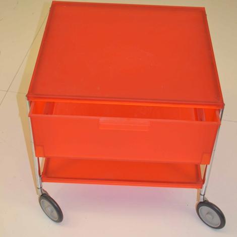 Cassettiera kartell mobil colore arancio scontata del 30 - Spaccio arredo bagno ...