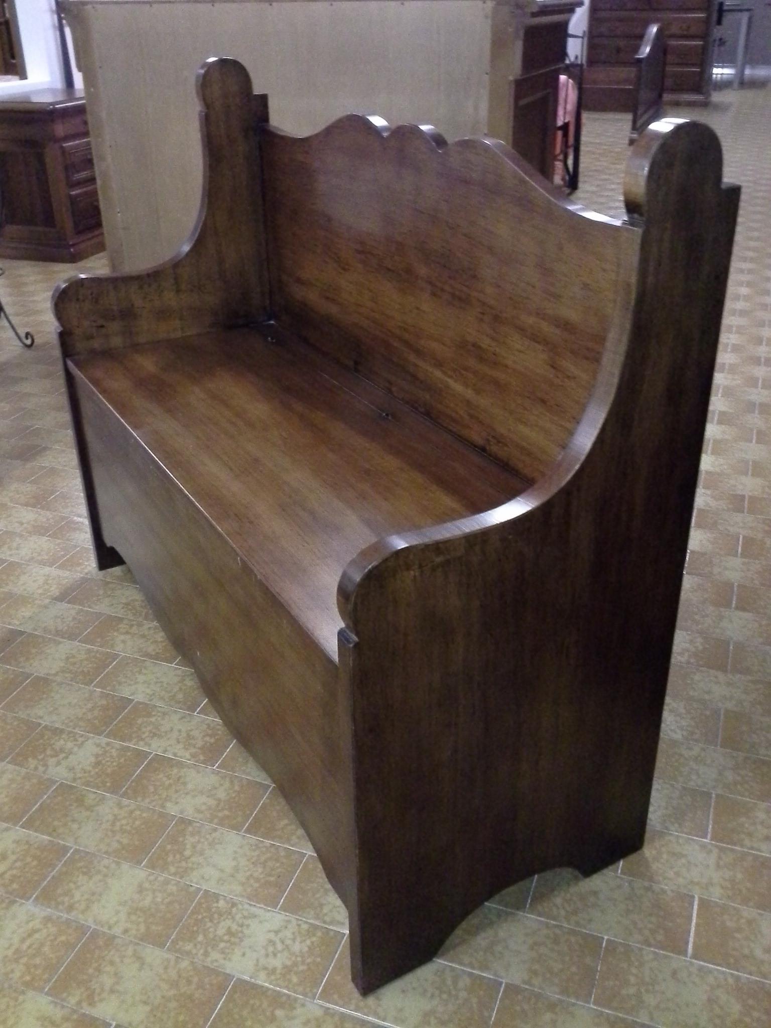 Cassapanca in legno contenitiva complementi a prezzi for Zanotti arredamenti