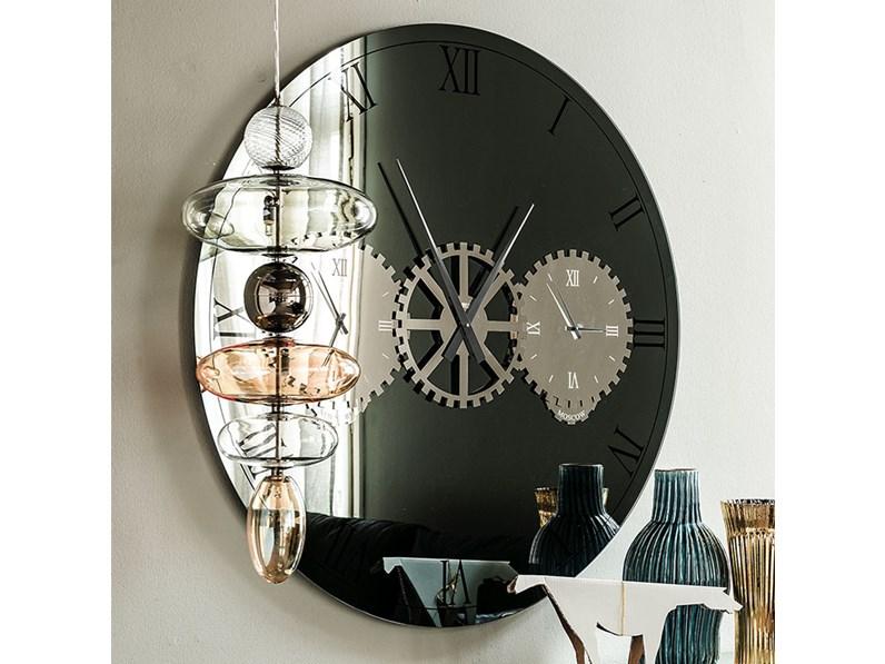 Cattelan Italia Times specchio orologio