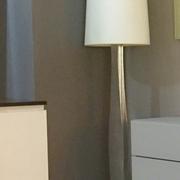Arti&Mestieri - offerta di Lampada da terra - Piantana - Modello Bice - Foglia argento di produzione artigianale.