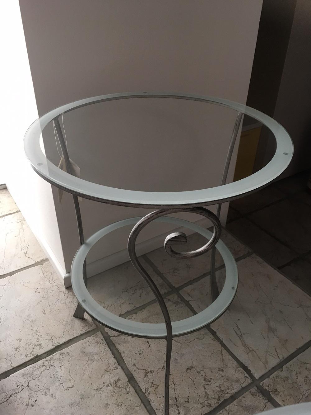 Complemento bontempi casa tavolini comodini bontempi for Table de chevet verre